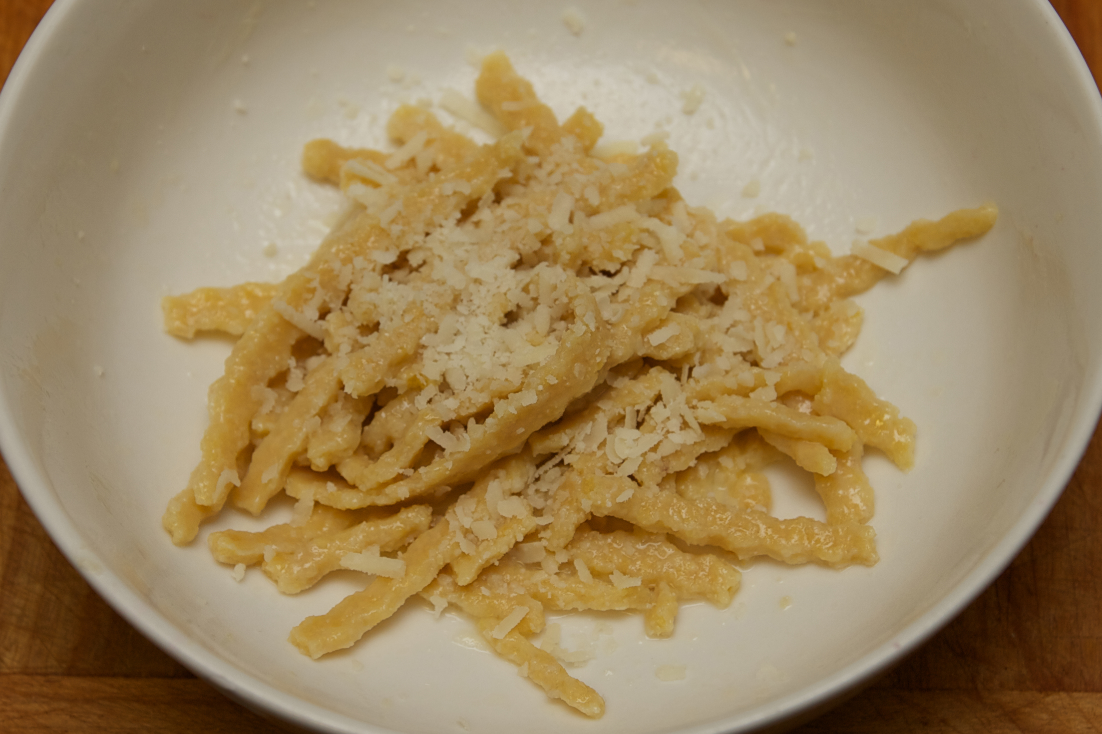 Homemade chickpea flour pasta | Mommalatteskitchen